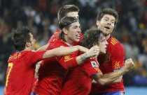 Gol de España a Alemania España 1 Alemania 0, España clasificada España finalista