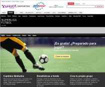Superliga futbol juego de futbol de Yahoo basado en la liga española