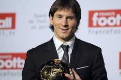 Lionel Messi Bota de oro 2010