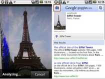 Google Googles iPhone