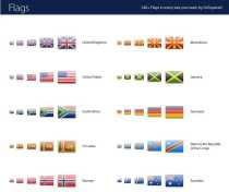 Banderas de todo el mundo 2400 íconos de banderas del mundo
