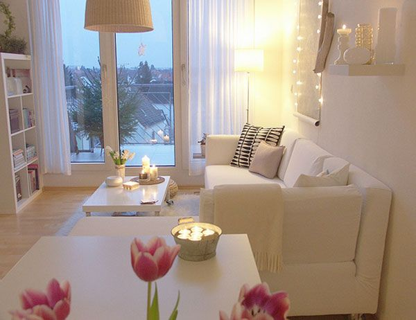 Small White Living Room Ideas