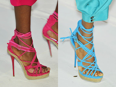 Kenzo Spring Summer 2010-ss10 runway shoes