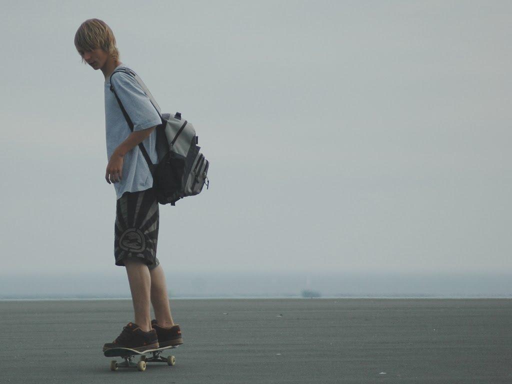 Cute Skater Boy