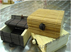 Bamboo box for 3pcs