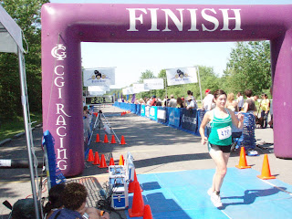 triathlon finish