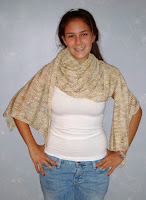 Drop Stitch Shawl Pattern