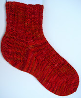 Beaded Rib Socks
