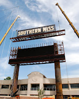 construction of Southern Miss football stadium