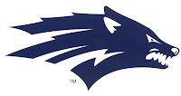 University of Nevada blue logo.