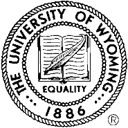 University of Wyoming seal.