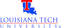 Louisiana Tech University bumper sticker.