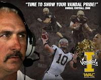 University of Idaho promotional WAC football poster.