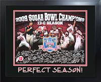 Utah 2009 perfect season, 13-0 with Sugar Bowl win.
