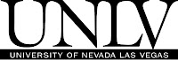 Simple UNLV bumper sticker.