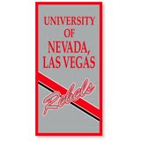 University of Nevada, Las Vegas Rebels gray banner.