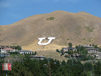 U on hill at University of Utah.