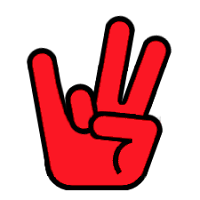 University of Houston hand and finger sign.