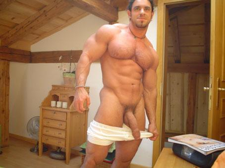 With Hot muscled dicks guys big