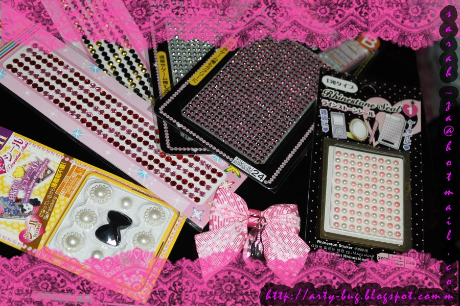 [pink+hp+bling+materials]