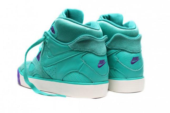 zapatos jordan verde agua