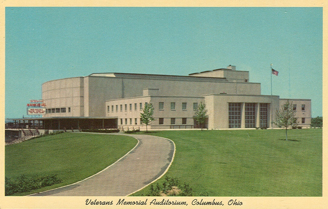 Veterans Memorial Hall, Columbus