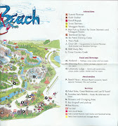Blizzard Beach Guidemap (scan )