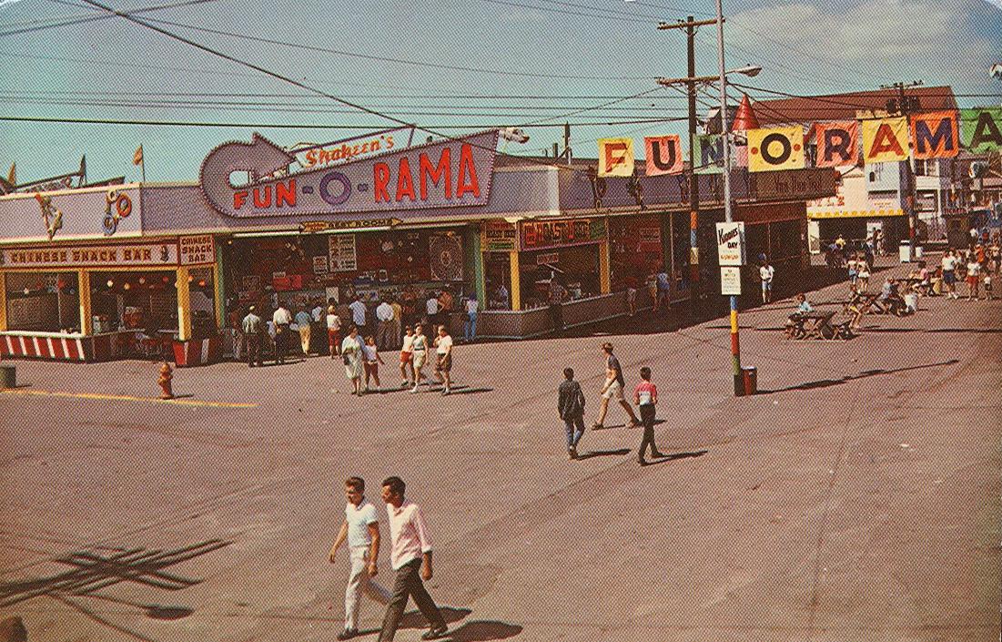 Vintage Travel Postcards: Shaheen's Fun-O-Rama Park - Salisbury ...