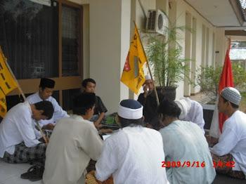Aksi Do'a Bersama Di Kejari Kab. Subang Dengan Harapan Supremasi Hukum Di Kab. Subang Ditegakkan