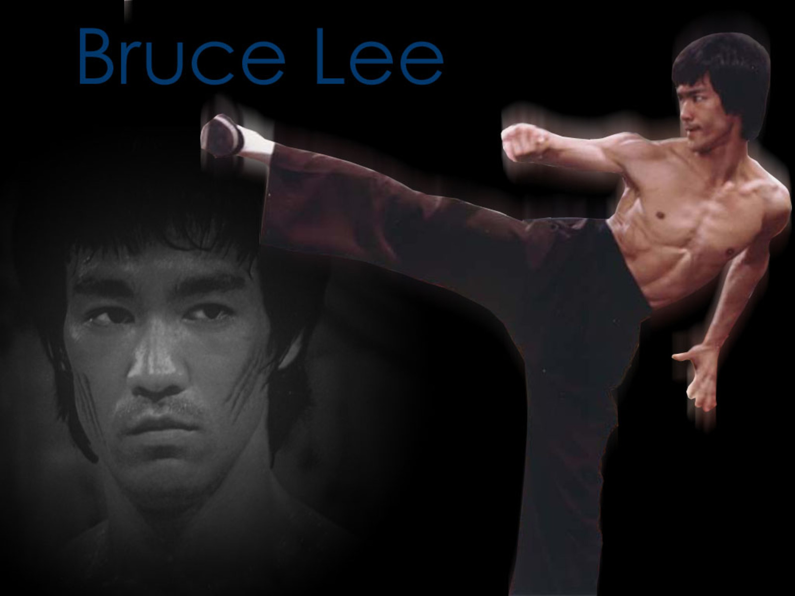 wallpapers photo art bruce lee wallpapers