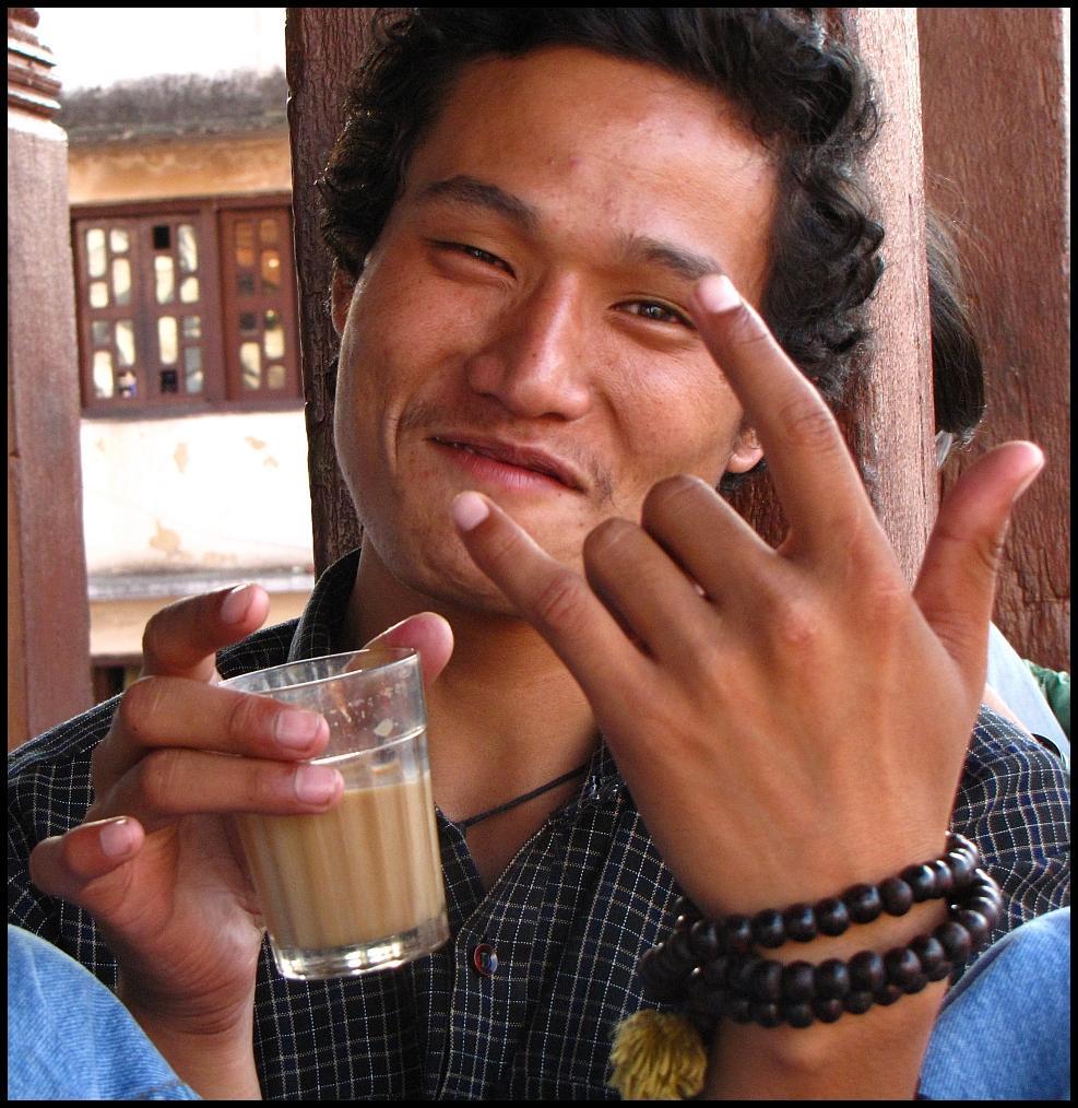 Cool Nepali Dude, Kathmandu, Nepal, 26-Sep-09. Canon PowerShot SX10 IS