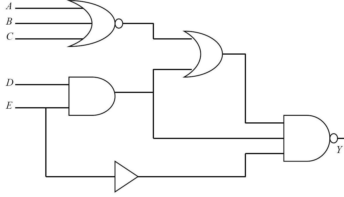Circuito Logico : Circuito logico combinatorio