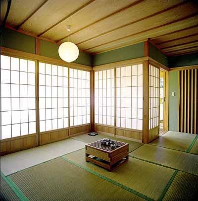 Il salotto giapponese shoji e fusuma le pareti for Pareti giapponesi