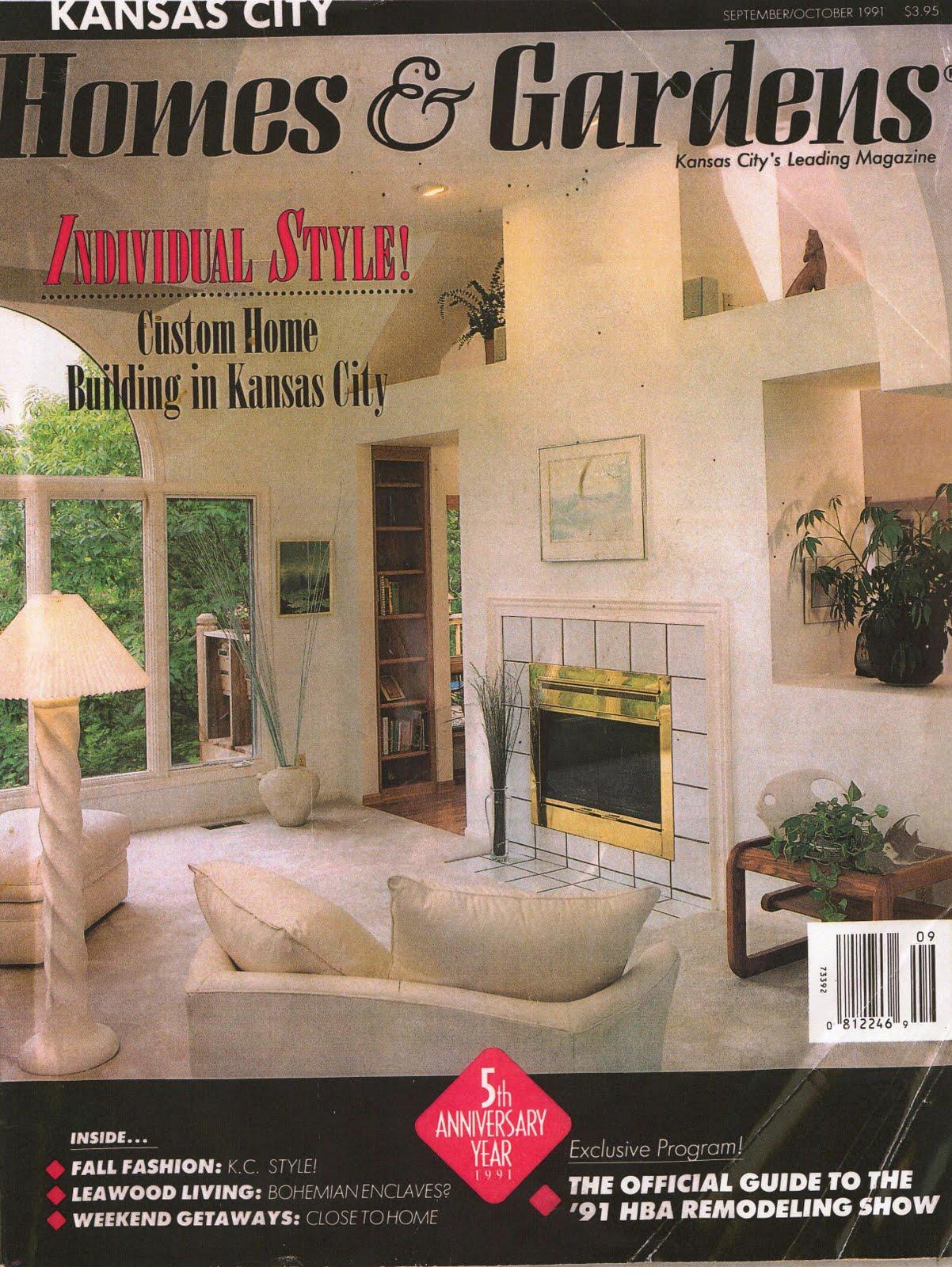 KCMODERN: Kansas City Homes and Gardens September/October Issue-1991 ...