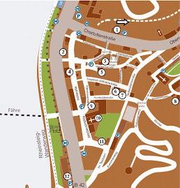 Stadtplan von Ehrenbreitstein