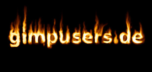 Hot+text+on+flames++fire 100+ Exceptional GIMP Tutorials and Resources