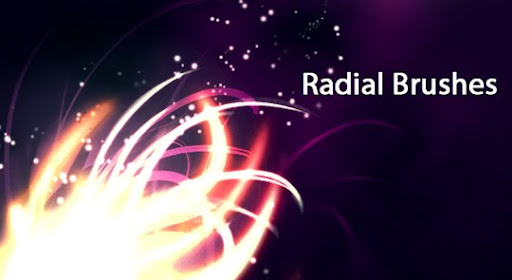 Radial Brushes by rubina119 1000+ Beautiful Abstract Light Photoshop Brushes for Light Effects