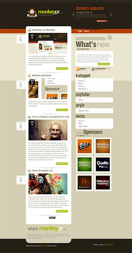 monkeypr+blogger+template Monkeypr Blogger Template