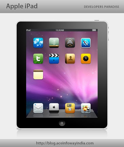 apple ipad 7 Useful Apple iPad PSD GUI Packs for Designers