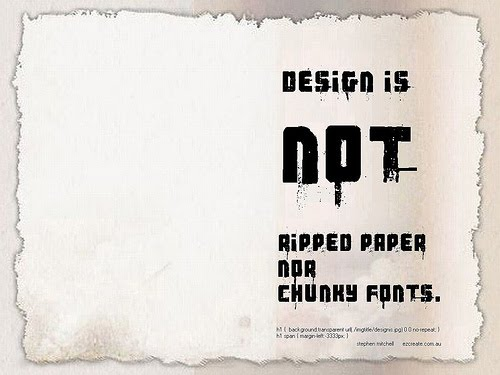 "DESIGN+IS+NOT+RIPPED+PAPER+NOR+CHUNKY+FONTS. 70+ Super Creative Wallpapers ""About Design"""