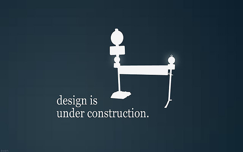 "Design+is+Under+Construction 70+ Super Creative Wallpapers ""About Design"""