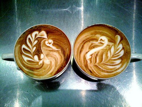 doubleLFS practice Delicious Coffee Latte Art  Too Beautiful to Drink