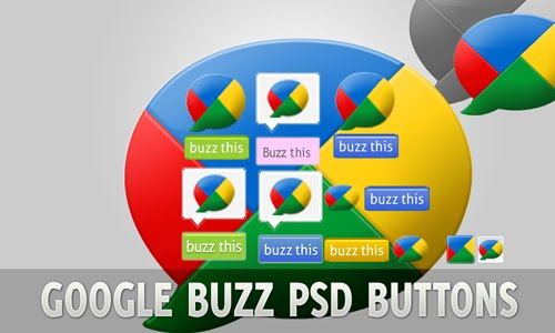 Google+Buzz+Share+Buttons+download+PSD Google Buzz Share Buttons PSD