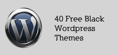40+Free+Black+Wordpress+Themes Best of the Web: Design Community February 2010