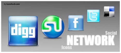social network icons 10 Fresh and Unique High Quality Social Network Icon Sets