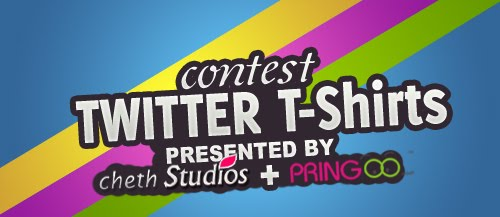 Contest +Twitter+T shirts+for+sale+and+free Contest: Win Customised Twitter T Shirts!