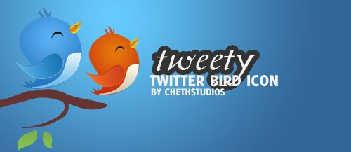 Tweety Free Twitter Bird Icon Pack download
