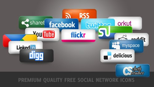 Premium Social Icons 10 Fresh and Unique High Quality Social Network Icon Sets