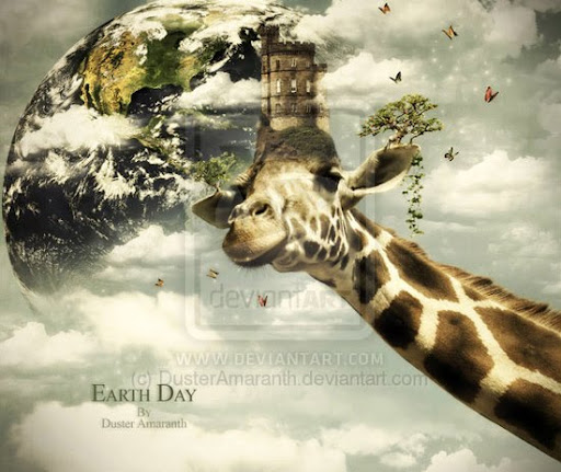Earth Day by DusterAmaranth+DA Inspirational Posters and Advertisements Dedicated to Earth Day | Part 1