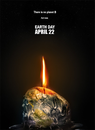 Global Warming by KarimDesign Inspirational Posters and Advertisements Dedicated to Earth Day | Part 1